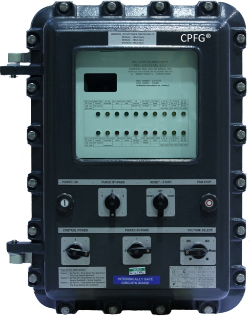 CPFG - Combined Pressurisation Fire & Gas Control Panel